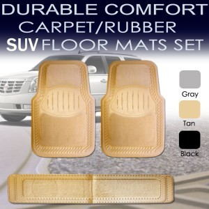 1999 2000 2001 2002 2003 2004 Chevy Surburban Floor Mat Set ALL FEES INCLUDED!