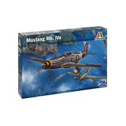 Italeri Models Mustang MK IVA Airplane Model Building Kits Multi-Colored