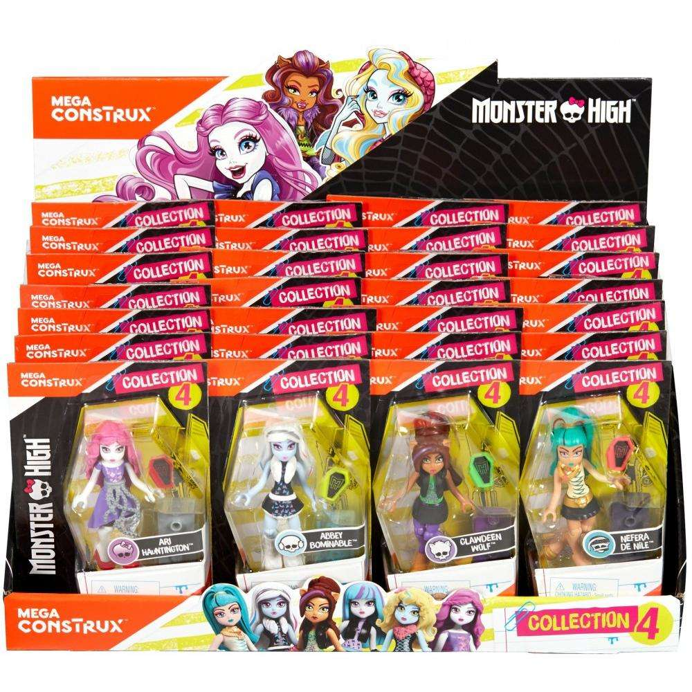 Mega Construx Monster High Ghouls Skullection III Assortment Parent