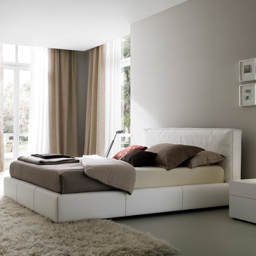 Touch Platform Bed - White