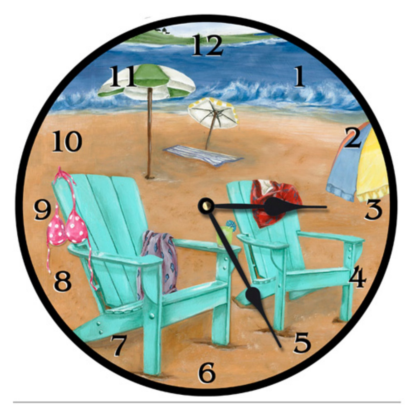 Lexington Studios Skinny Dipping Wall Clock