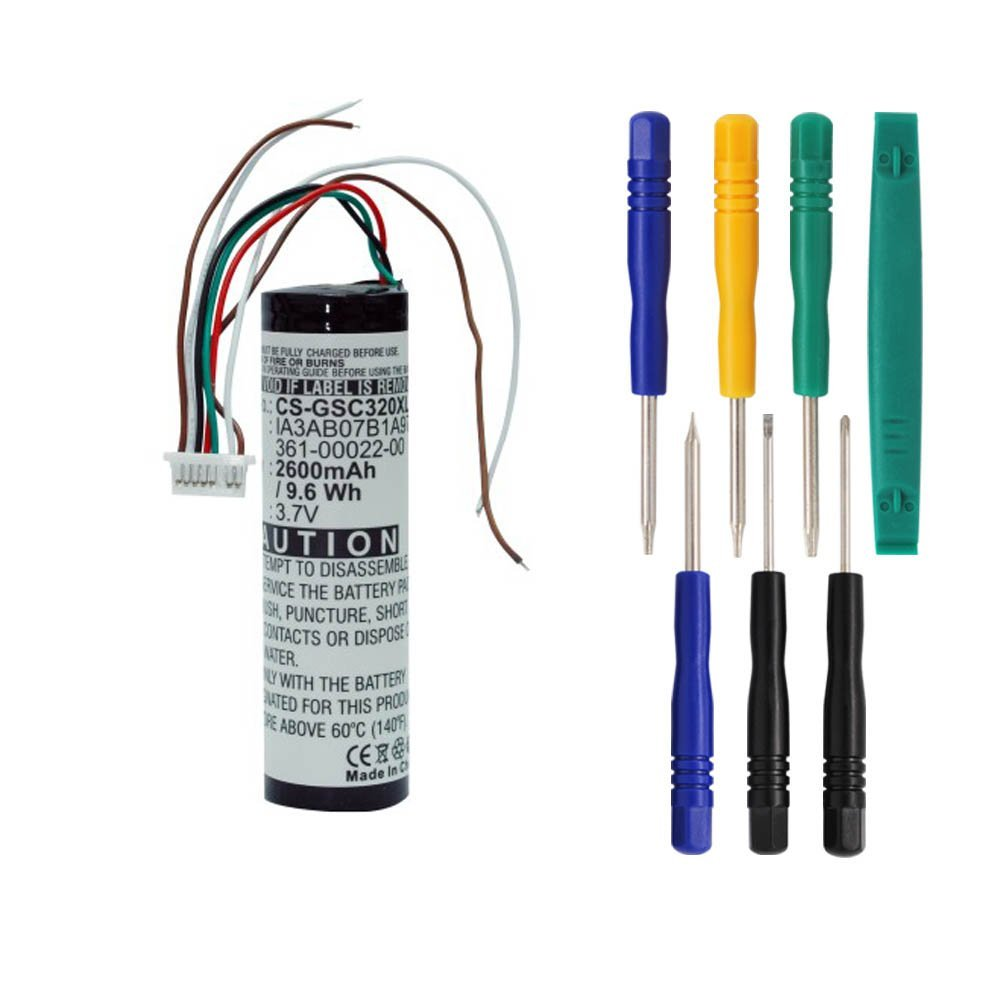 Cameronsino 2600mAh Li_ion Rechargeable Battery 361_00022...