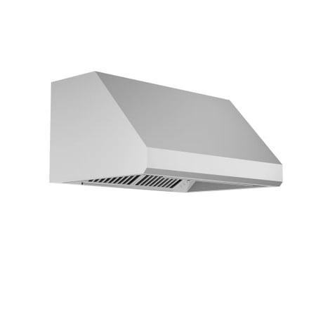 Zline 433-430-48 Professional 1200 CFM 48 Inch Wide Under Cabinet Range Hood 48in 1200 Cfm Wall Mount