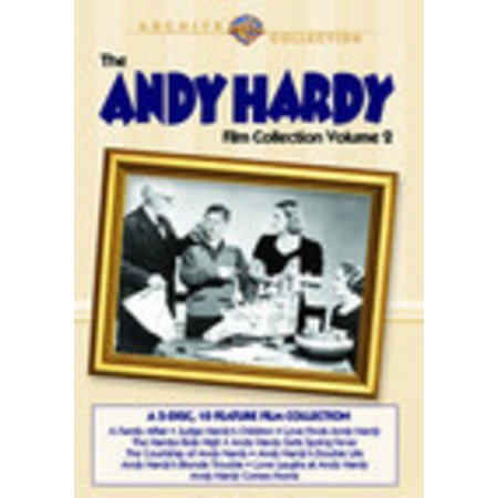 The Andy Hardy Film Collection: Volume 2 (DVD) - The Film Halloween 2