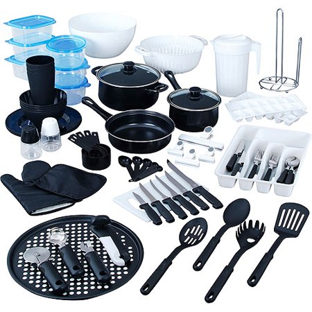 83 piece kitchen combo set for Kitchen set combo offer