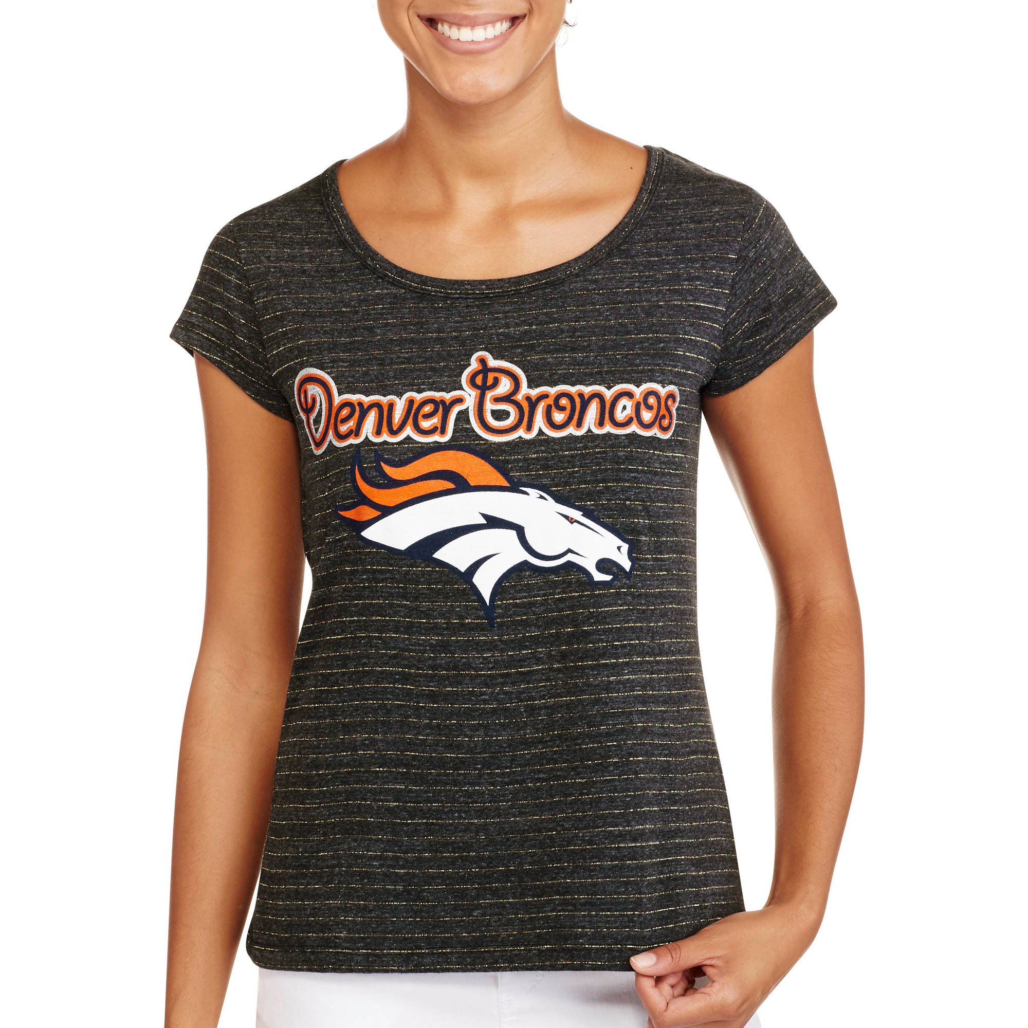 NFL Juniors Broncos Short Sleeve Tee