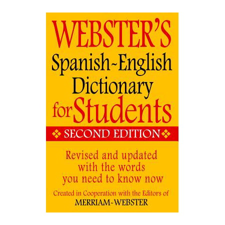 Webster's Spanish-English Dictionary for Students, Second (Best German English Dictionary For Kindle)