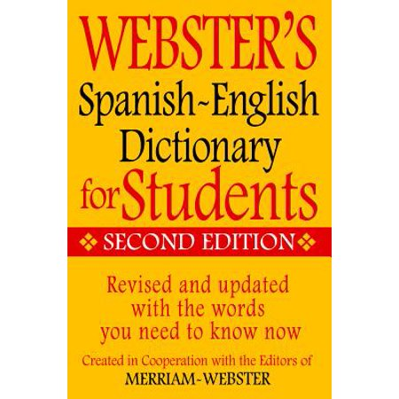Spanish Layout (Webster's Spanish-English Dictionary for Students, Second)