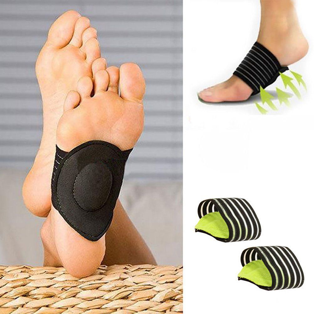 Arch Support Foot Cushion Pads Compression Massager for Flat Feet