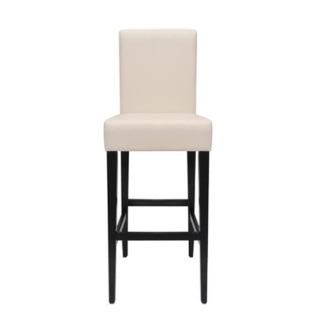 Fine Somette Lorena 30 Inch Off White Bi Cast Leather Barstool Alphanode Cool Chair Designs And Ideas Alphanodeonline