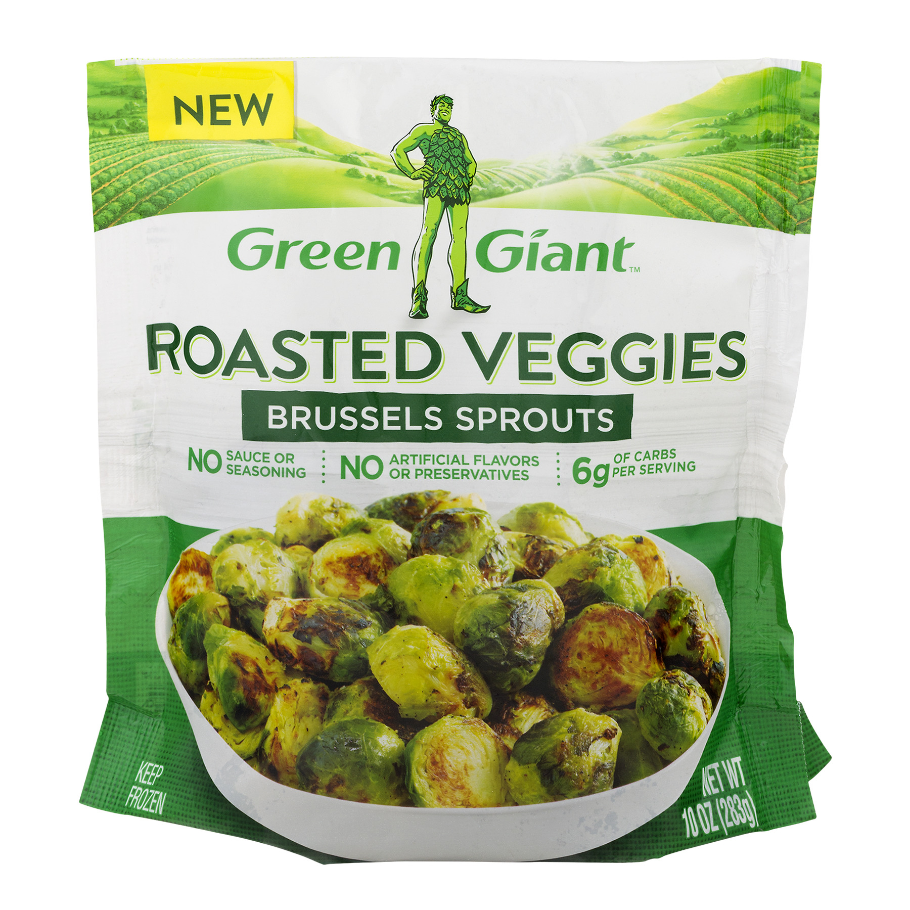 Green Giant Roasted Veggies Brussels Sprouts, 10.0 OZ