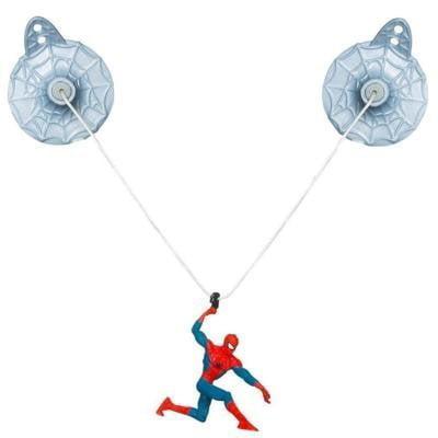 marvel ultimate spider-man zip line zoom spider-man figure by - Spider Man Ultimate