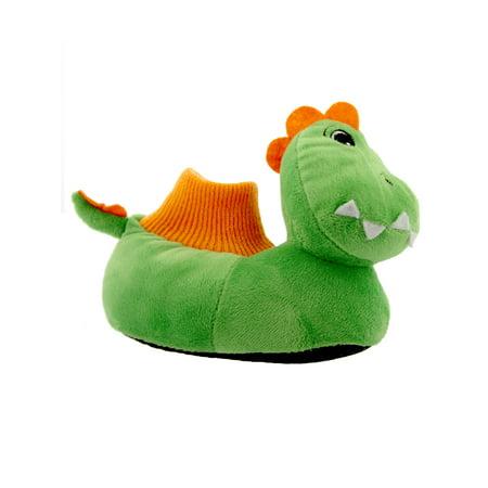 Yankee Toy Box Plush Dinosaur Toddler Boys Girls Sock Top Slippers 84007 - Dinosaurs Shoes