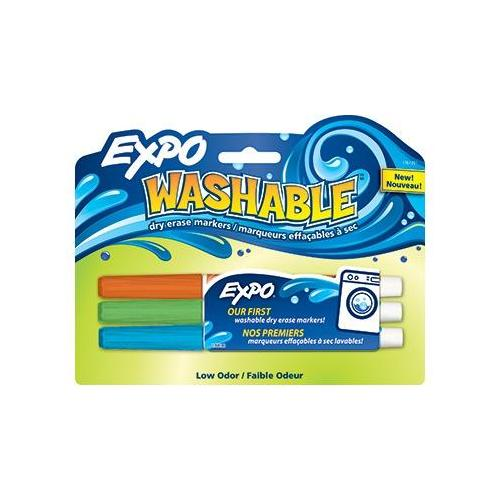 EXPO WASHABLE 3/PK ASST FINE ORANGE SCBSAN1761201-18 (pack of 18)