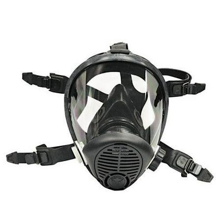 Sas Safety 9814 06 Opti Fit Fullface Multi Use Respirator  Large