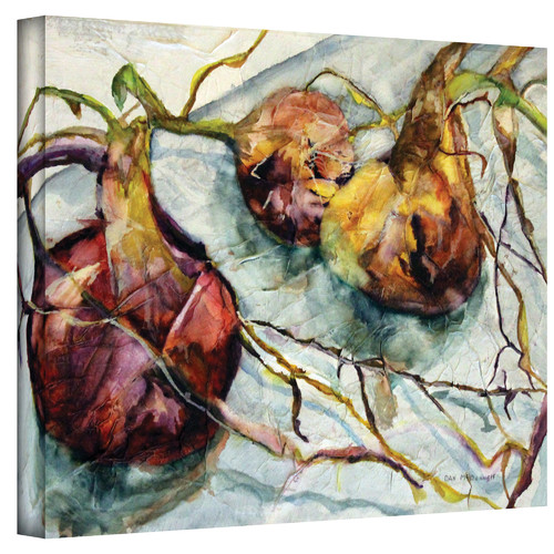 ArtWall ''Onions'' by Dan McDonnell Painting Print on Canvas