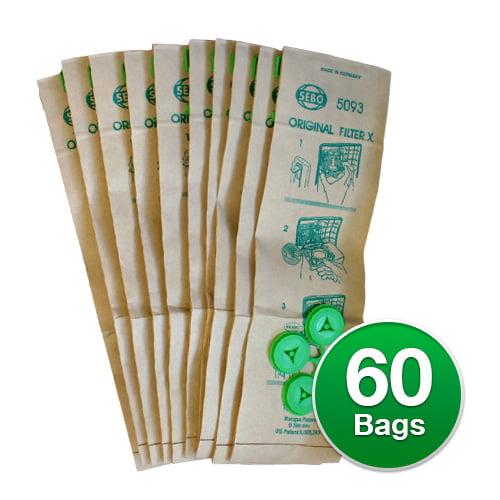Genuine Vacuum Bag for Sebo 5093AM / XCG bags (6-Pack) Ge...