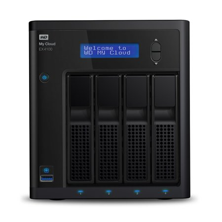 Wd My Cloud Business Ex4100 16Tb 4 Bay Pre Configured Nas With Wd Red Drives