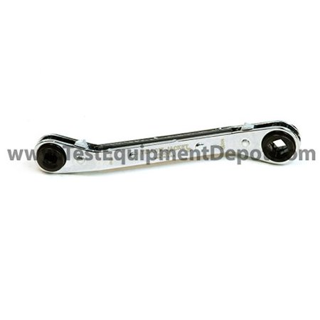 60616 Ratchet Wrench, Ratcheting refrigeration wrench By Yellow Jacket Ship from (Yellow Jacket 40802 Digital Refrigeration System Analyzer)