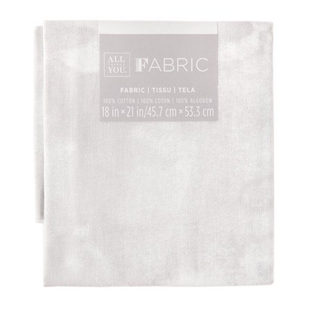 Marble Quilting Fabric Fat Quarters: White, 18 x 21 (Maple Fabric)