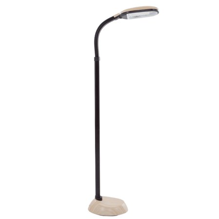Lavish Home Light Wood Grain Sunlight 5' Floor Lamp - Lavish Home Light Wood Grain Sunlight 5' Floor Lamp - Walmart.com
