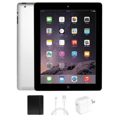 Apple iPad 4 Black 16GB Wi-Fi Refurbished with 1 Year Warranty