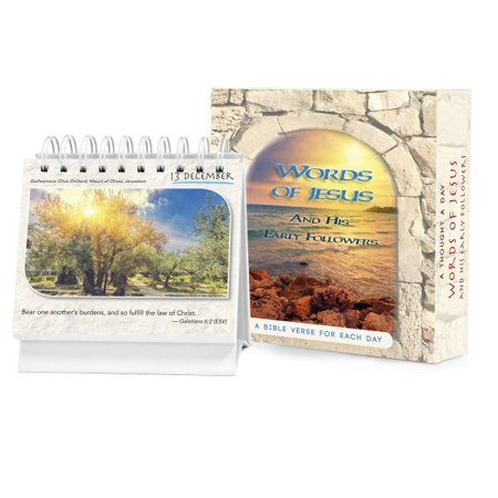 Perpetual Desk Calendar - Words of Jesus and His Early Followers : A 365 Day Perpetual Calendar / Daily Desktop Quotebook