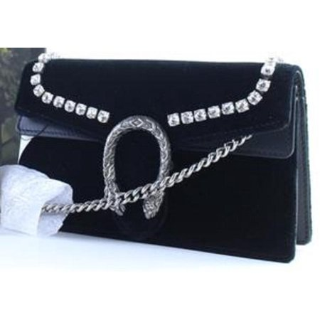 eef54fe78eb5 Gucci - Dionysus Super Mini Bag with Crystals 11GR0426 - Walmart.com