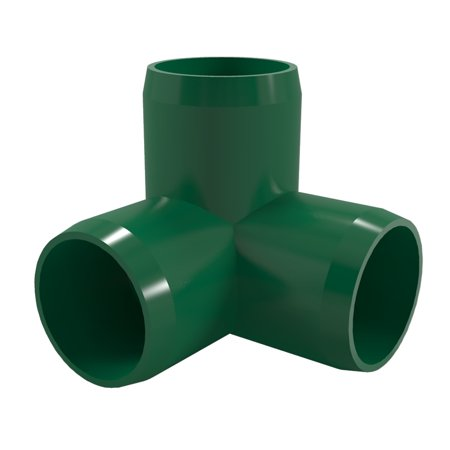 Formufit f0123we gr 10 3 way elbow pvc fitting furniture for 2 furniture grade pvc
