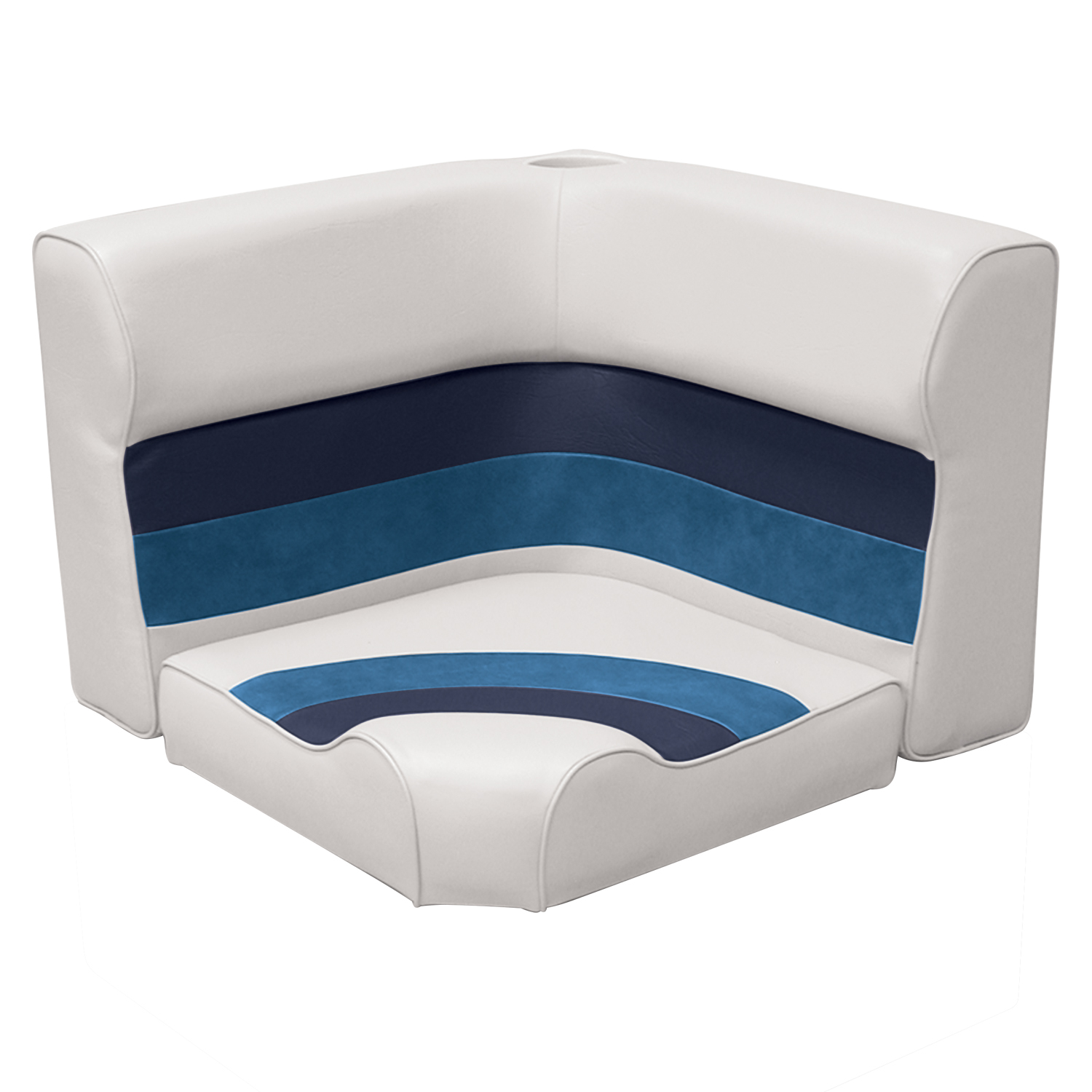 The Wise Company Inc 8WD108-1011 Corner Lounge Seat Right Grey//Navy//Blue Inc 46 The The Wise Boat Company