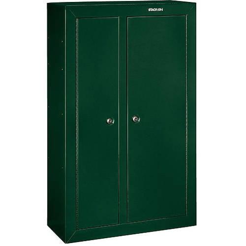 Stack-On 10 Gun Double Door Security Cabinet, Hunter Green by Generic