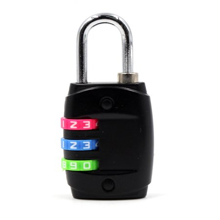 8a729ea138b8 3 Dial Digit Combination Password Padlock Code Lock Protect Locker for  Travel Suitcase Baggage Luggage Backpack Drawer