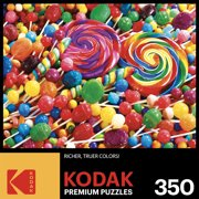 Kodak 350 Piece Jigsaw Puzzle Lollipop Swirls