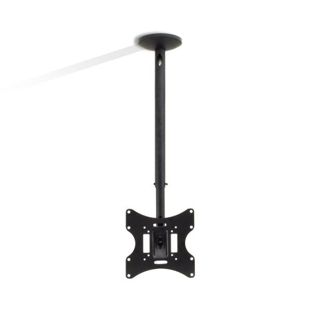"PYLE PCTVM15 - Universal Tilt, Swivel and Height Adjustable TV Ceiling Mount Bracket Fits Virtually All 23"" - 42'' TVs (Flat Panel HDTV, LCD, LED, Plasma and Smart (Flp 310 Ceiling Flip Down Tv Lift)"