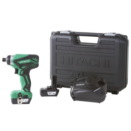Factory-Reconditioned Hitachi WH10DFL2 12V Peak Cordless Lithium-Ion 1/4 in. Hex Impact Driver (Refurbished) 12v Cordless 1/4' Impact Driver
