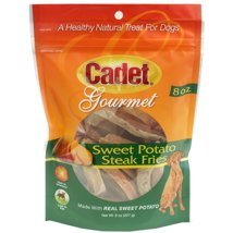 Dog Treats: Cadet Gourmet Sweet Potato Steak Fries