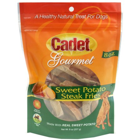 Cadet Gourmet Sweet Potato Steak Fries Dog Treats, 8