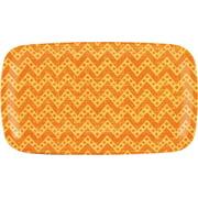 KNACK3 166505I Sandwich Tray, Melamine, Orange 6 Pack