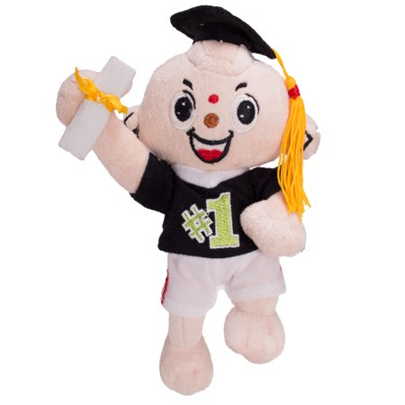 Veil Entertainment Jumping #1 Graduate Cap and Gown Doll 9