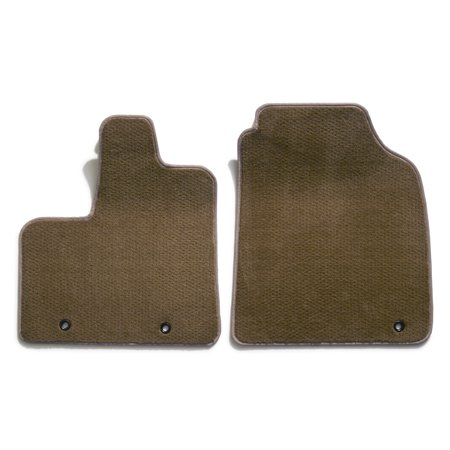 Chevrolet Blazer Floor - Premier Plush Custom Floor Mats: 1986-94 Fits CHEVROLET S10 BLAZER 2PC FRNT (Beige) (2PC Set) (761610-23)