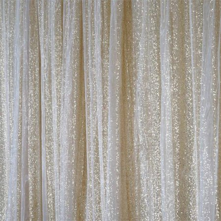Efavormart 20ft x 10ft Sequins Backdrop Curtain Photography Background Sequin Photo Booth Backdrop Studio Background  - 3 colors](Photo Booth Curtains)