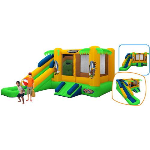 Blast Zone Hang Ten Bouncer and Slide Combo