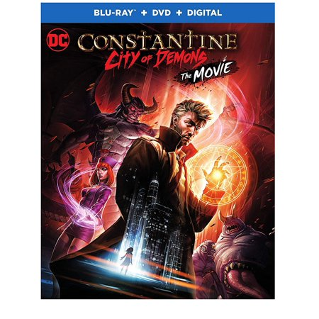 Constantine-city Of Demons [blu-ray] (Sin City 1 And 2 Blu Ray)