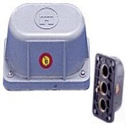 Hayward SP0680 Noryl Light Junction Box with 3 Bottom Outlet, 3/4-Inch