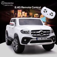 Veryke Electric Cars for Kids, Blue Electric Cars for Kids to Ride, Battry-Powered Ride On Mini Car Gifts for Children Child Boys, 12V Kids Ride-On Truck Car w/ Remote Control