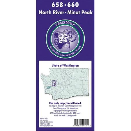 Big Sky Washington RAMS GMU Maps - Walmart.com