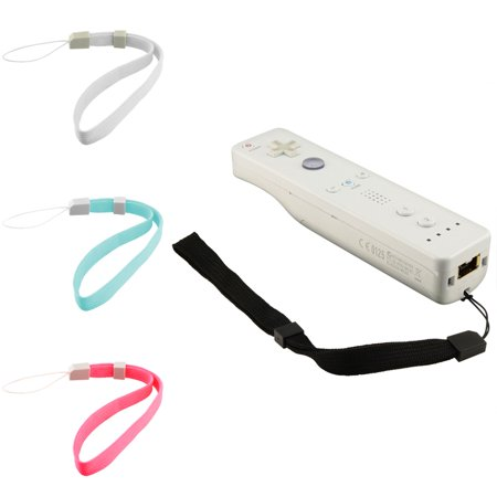 Insten 6 Color Lanyard Hand Wrist Strap For Nintendo DSL Wii PSP (Best 4 Player Wii Games)