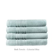 Melange Home Luxury Hotel Cotton Turkish Towel Collection (Bath Towel Set)