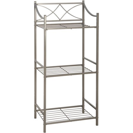view larger. chrome 3 tier bathroom stand smallnarrow freestanding ...