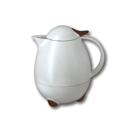Leifheit Columbus White/Brown Carafe - 0.75 L / 6 Cups / 25 (Columbus Carafe)